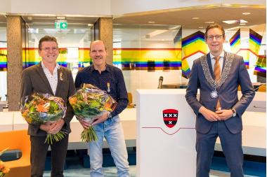 Koninklijke onderscheiding voor Lex en Richard Nieuwenhuizen
