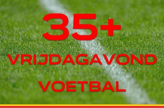 35plus voetbal (7x7) op vrijdagavond: meld je aan