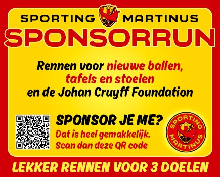 SponsorRun 2021 (3 juli): Katja trapt alvast de Run af, buurvrouw Astrid bedankt en Ajax komt