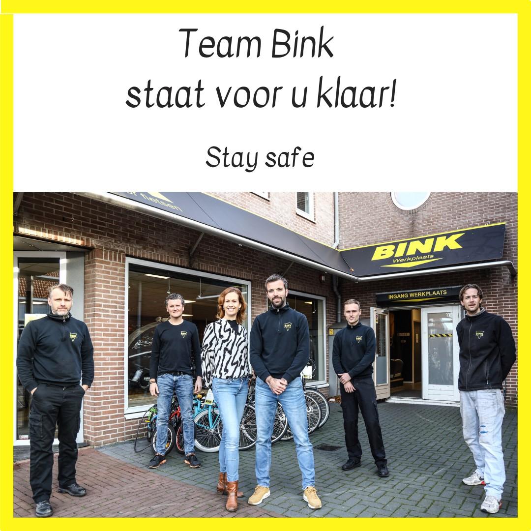 Werkplaats Bink Fietsen blijft open!