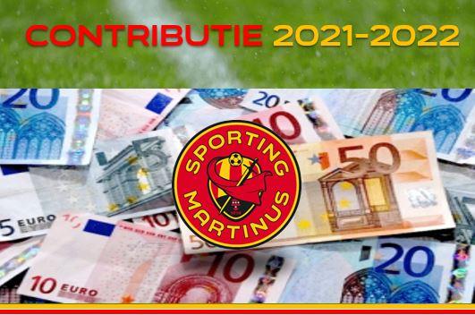 Contributie 2021-2022: facturering verschoven naar 1 oktober