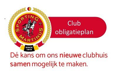 ClubObligatieplan tot nu toe groot succes! Sporting Martinus gaat voor de toekomst!