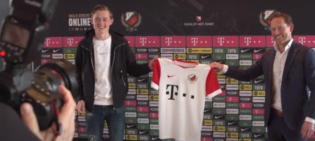 Gefeliciteerd Tijn met je profcontract bij FC Utrecht!