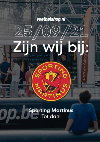 Zaterdagmorgen 25.09: Voetbalshop-truck vol acties