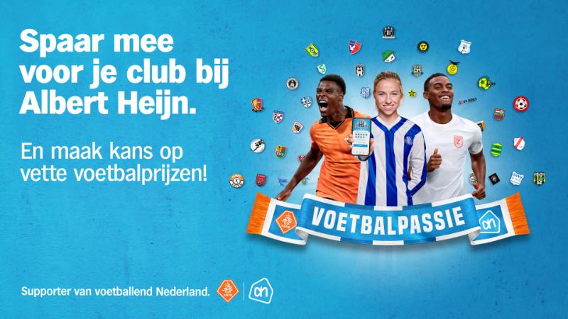 Doe mee met de AH Voetbalpassie spaaractie (13.09 - 10.10)
