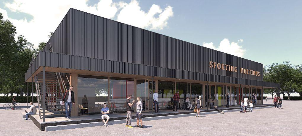 Nieuwbouw clubhuis update